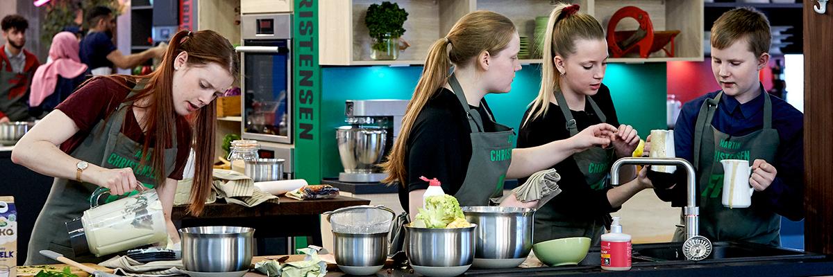 I Family Food Fight laver familierne mad i Vordingborg køkkener