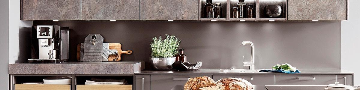 Bordpladerne i køkkenet kan fås i mange forskellige tykkelser