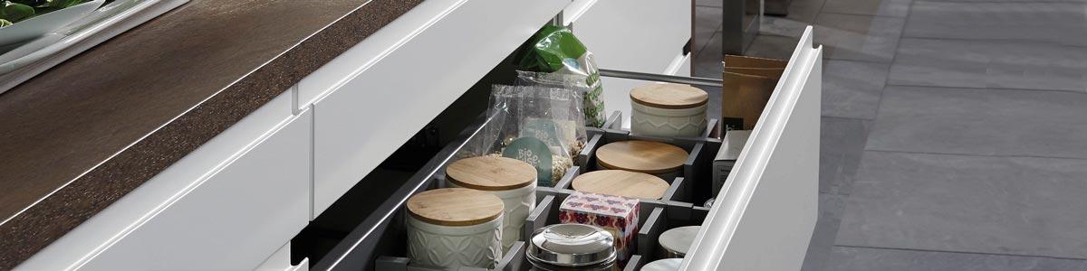 Hvor meget kan dine køkkenskuffer holde til?