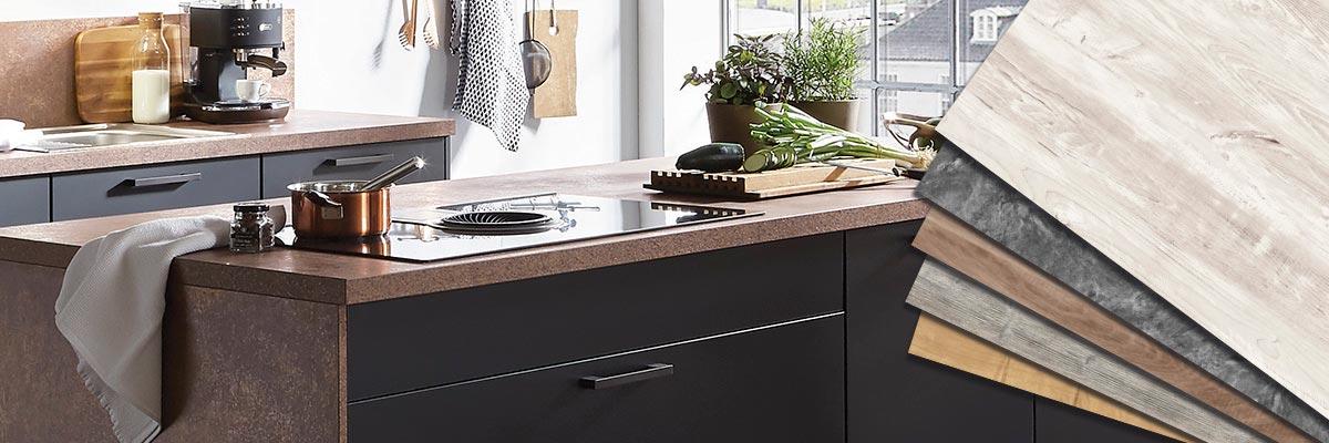 Bordplade, laminat, ny bordplade, nyt køkken, Vordingborg Køkkenet