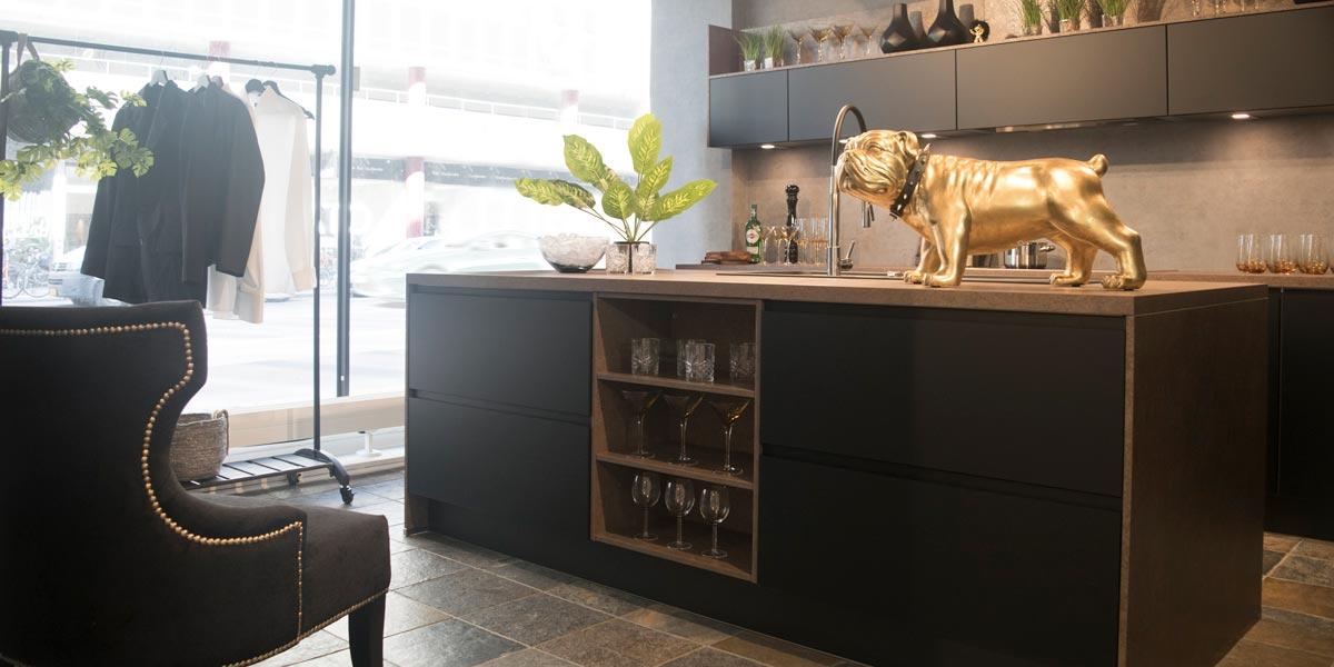 sort touch ved vesterport inspiration til indretning vordingborg køkkenet