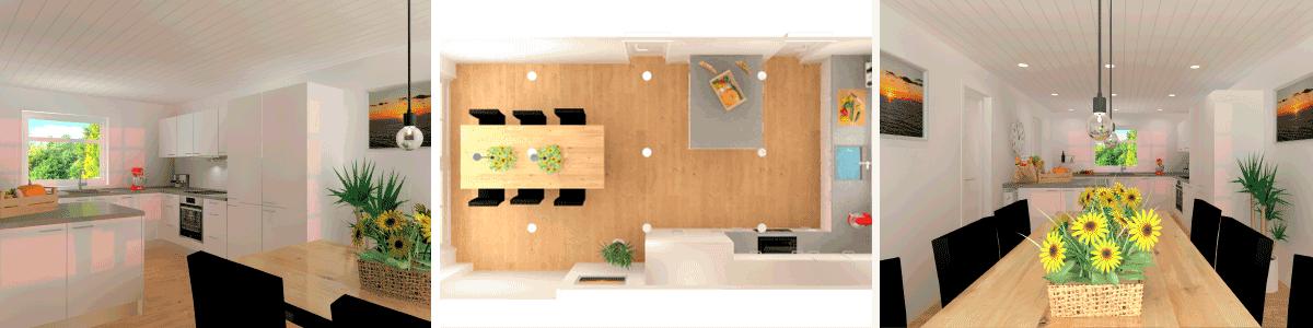design til budget detaljer nyt køkken vordingborg køkkenet