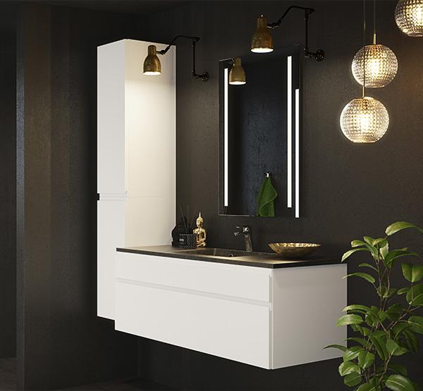 Inline, grebsfri, nyt badeværelse, Vordingborg Køkkenet