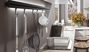 Hing dit køkkenværktøj op på væggen med led