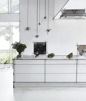 Få et designforslag gratis og uforpligtende hos vordingborg køkkenet