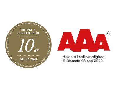 AAA Guld Kreditvurdering