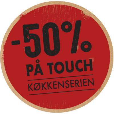 spar 50 % på touch nyt køkken bad vordingborg køkkenet