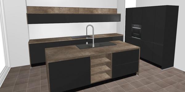 touch sort nyt køkken inspiration til indretning vordingborg køkkenet