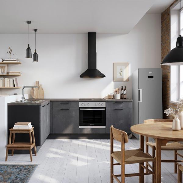 Vinkelkøkken, Speed-serie, nyt køkken, Vordingborg Køkkenet