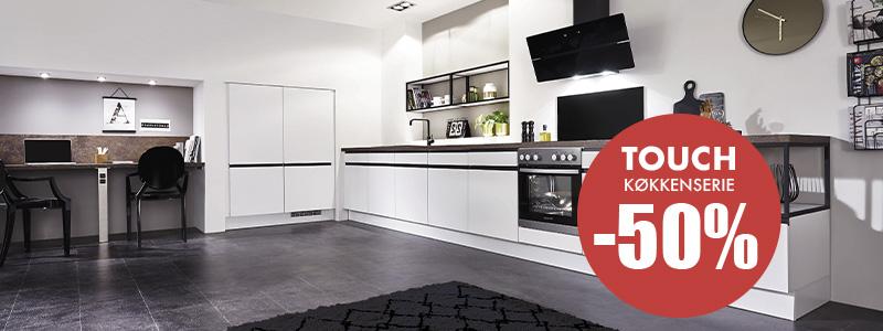 grebsfri hvid touch nyt køkken vordingborg køkkenet