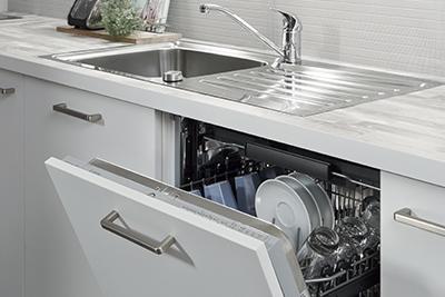 vask afløb nyt køkken vordingborg køkkenet
