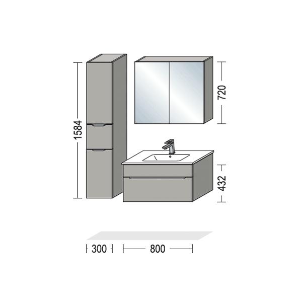 Nyt badeværelse, Speed-serien, Vordingborg Køkkenet