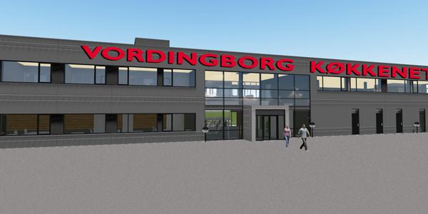 nyt hovedkontor på vej vordingborg køkkenet