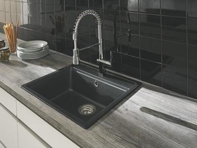 Køkkenbillede med vask